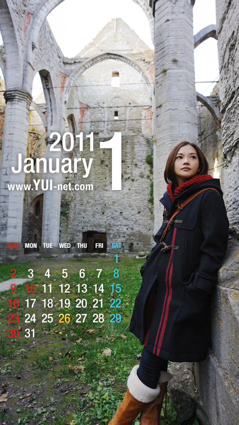 YUI-net mobile wallpapers  Jan2011_l?Mode=WP